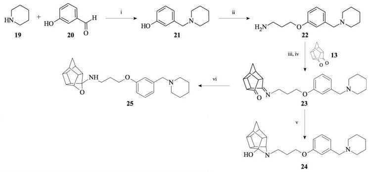 Hexacyclododecylamines with Sigma-1 Receptor Affinity and